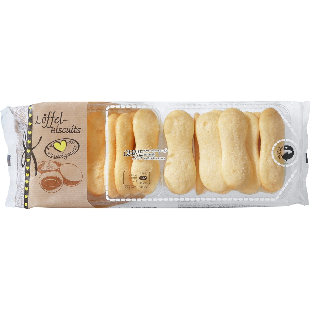 Löffel-Biscuits
