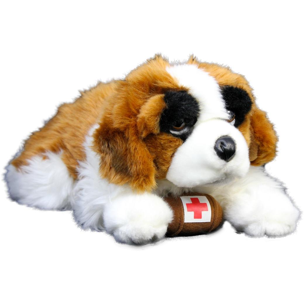 Bernhardiner Plüsch Hund