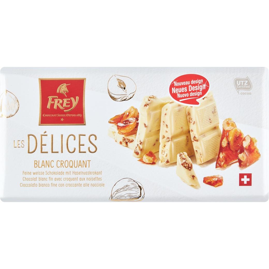 Les Delices «Blanc Croquant» - 100g