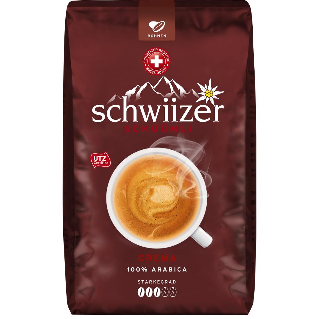 Schwiizer Crema Bohnen