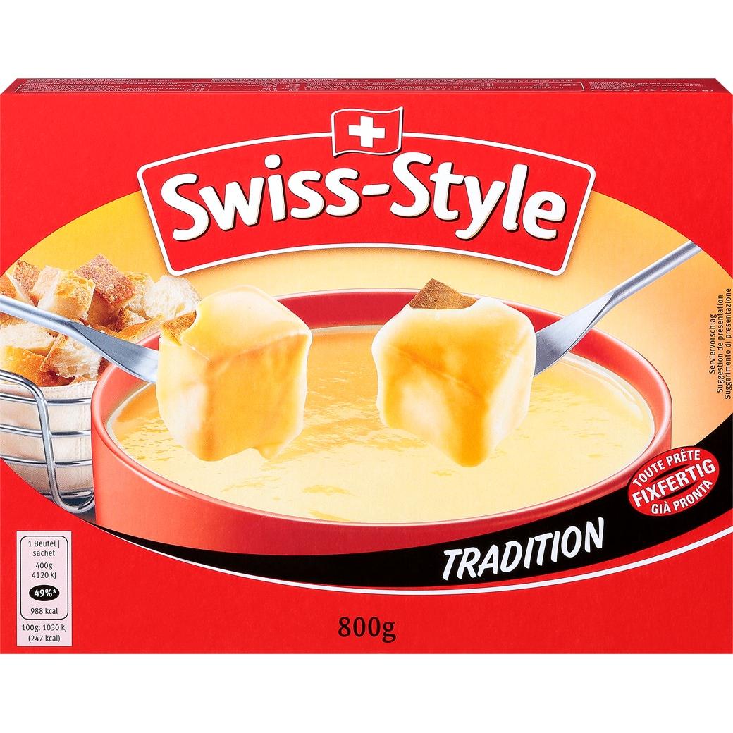 Fondue Swiss Style