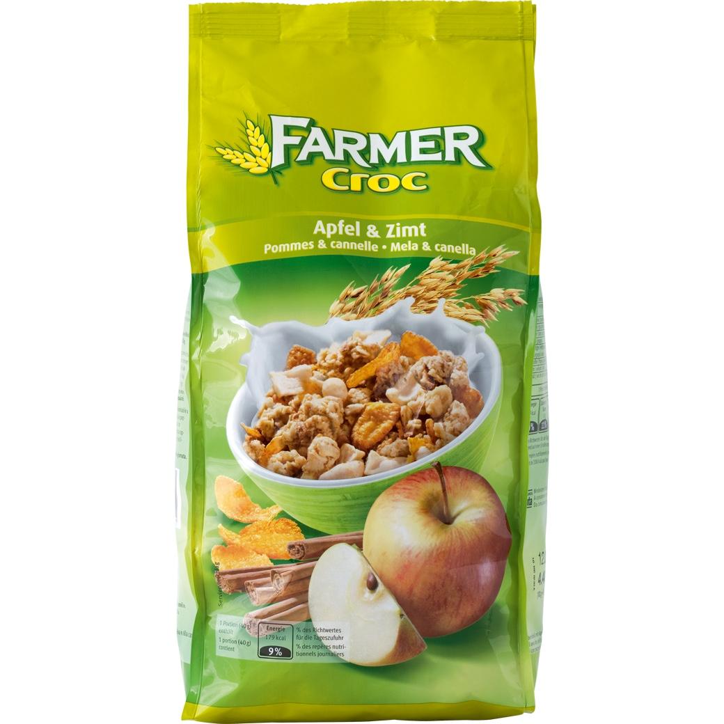 Farmer Croc Crunchy Apfel & Zimt - 500g