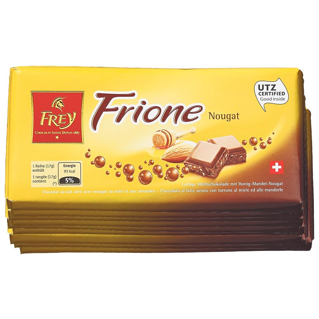 Frione Nougat 10x100g