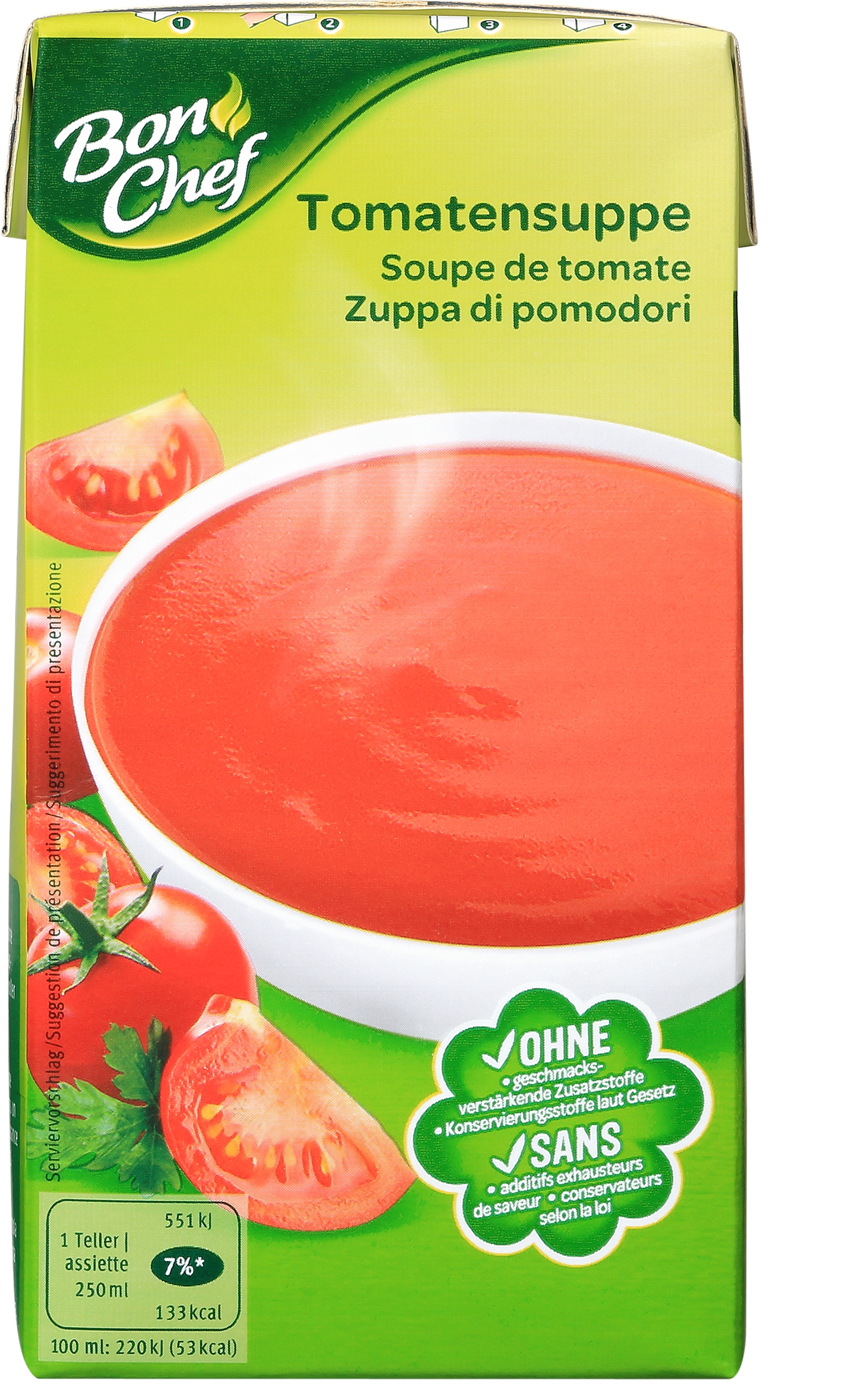 Bon Chef Tomatensuppe - 514g