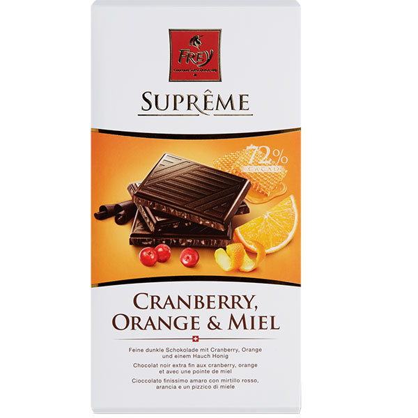 Suprême Cranberry Orange Honig - 100g