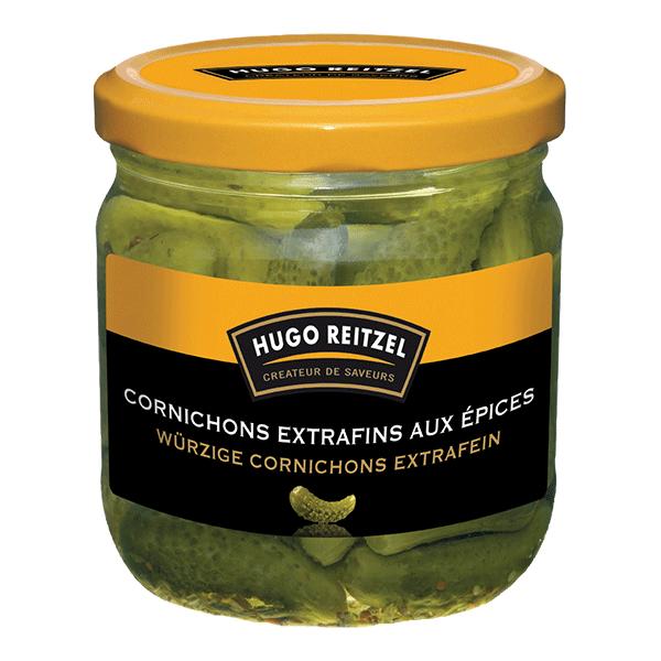 HUGO Reitzel Cornichons Extra Fein