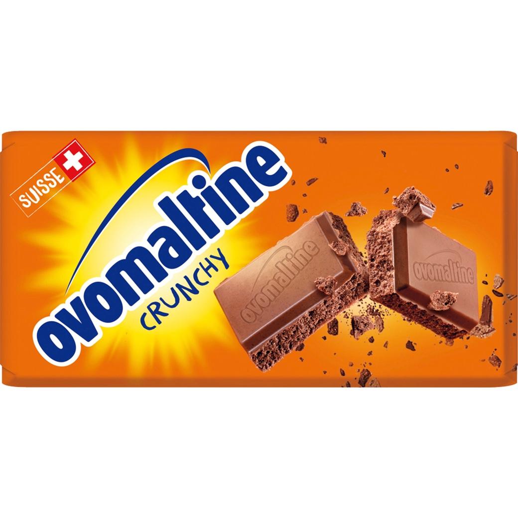 Ovomaltine «Crunchy» Tafelschokolade