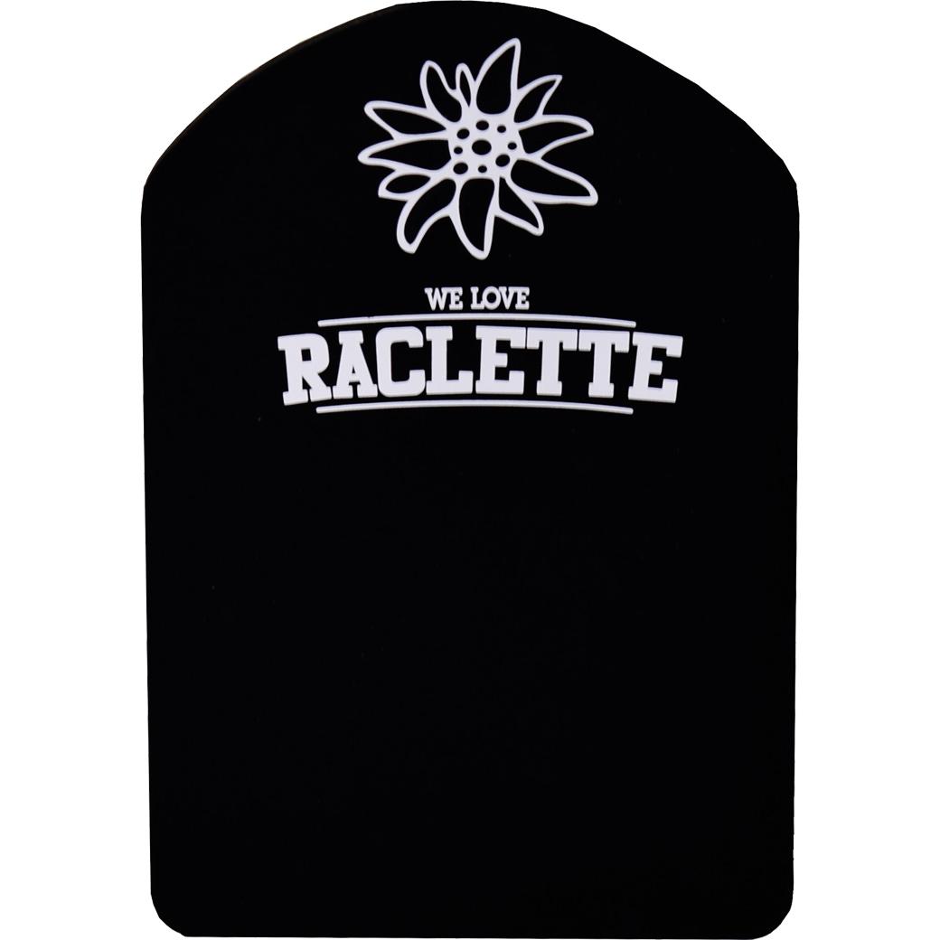 Silikon Racletteuntersetzer «Edelweiss»