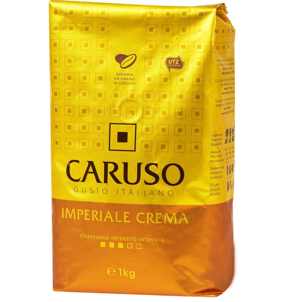 Kaffee Caruso Imperiale Crema Bohnen - 1kg