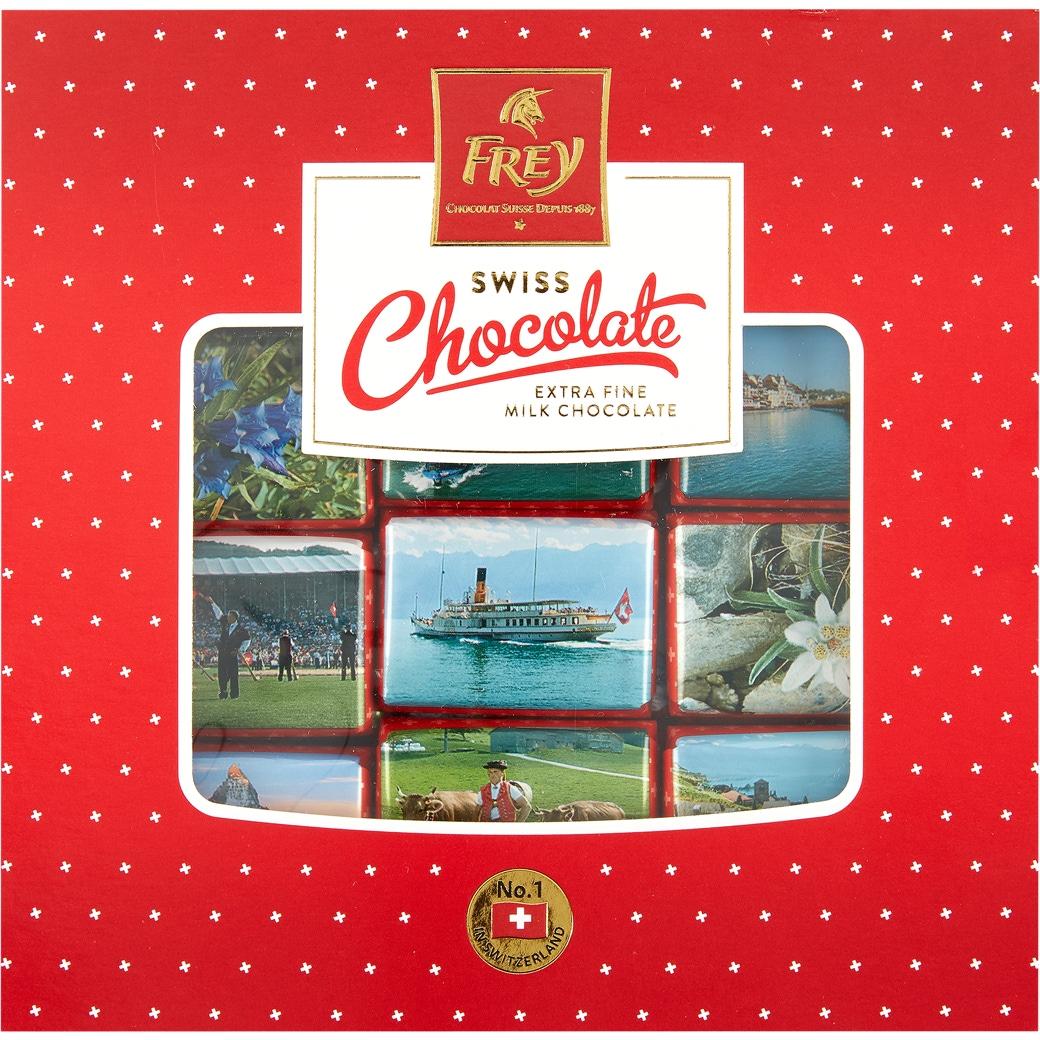 Swiss Chocolate Napolitaines «Schachtel» - 250g