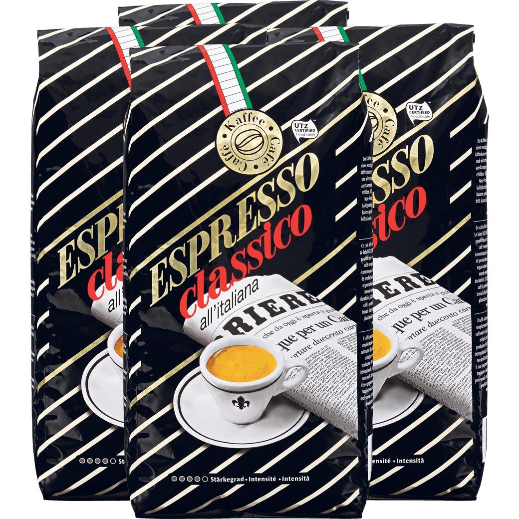 Kaffee Espresso 'Classico Bohnen' 4x1kg