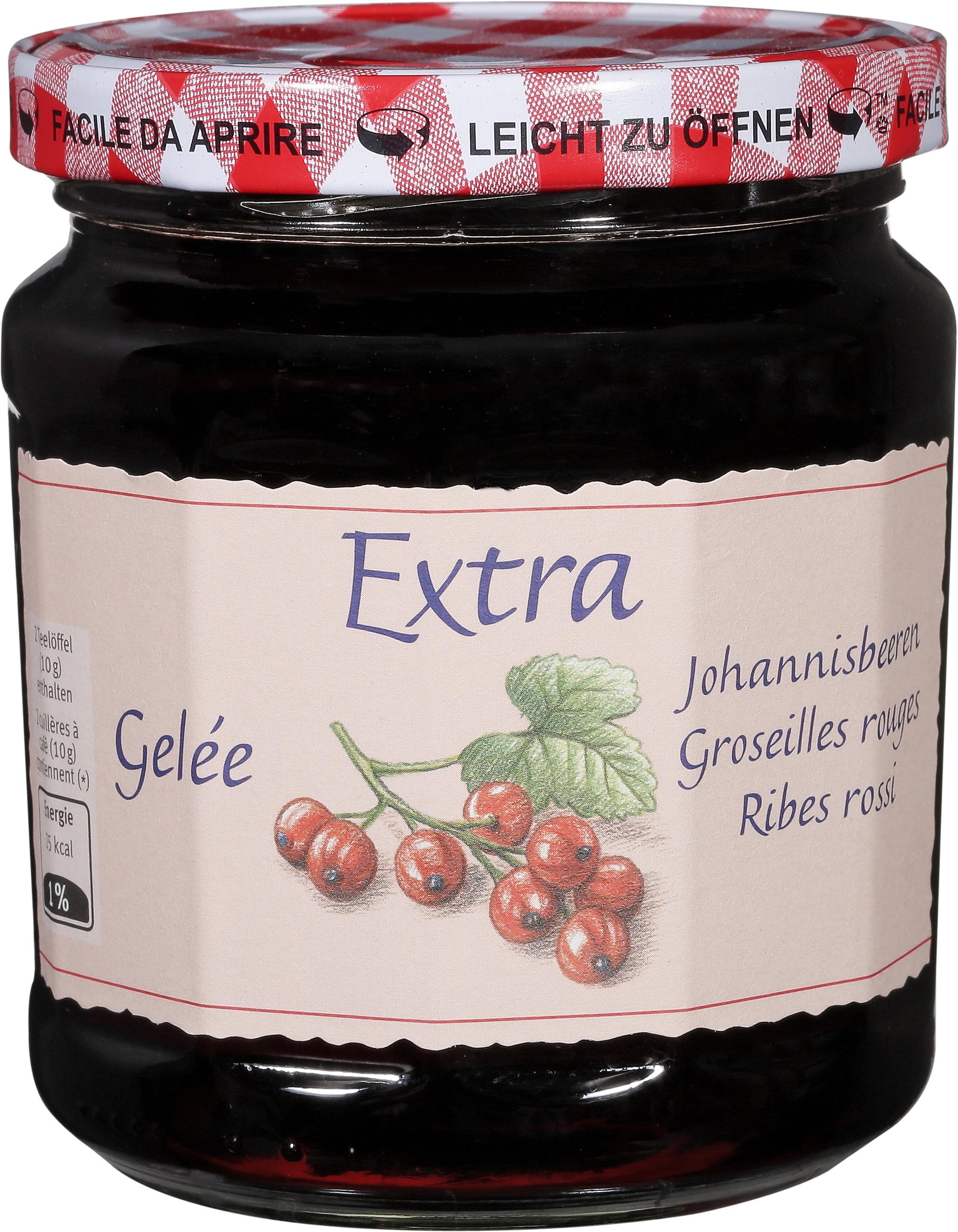 Johannisbeer-Gelée extra - 500g