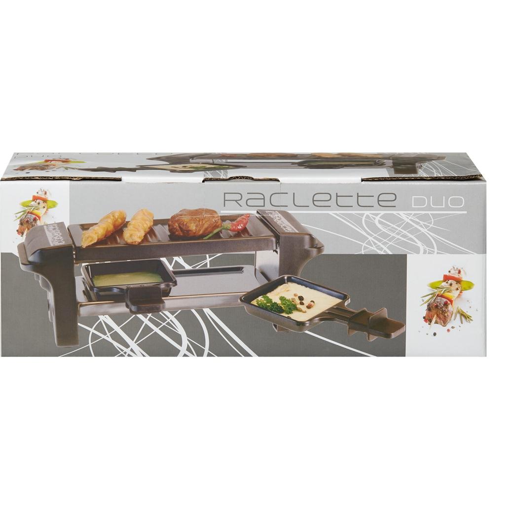 Raclette Gerät 'Scherenschnitt' schwarz