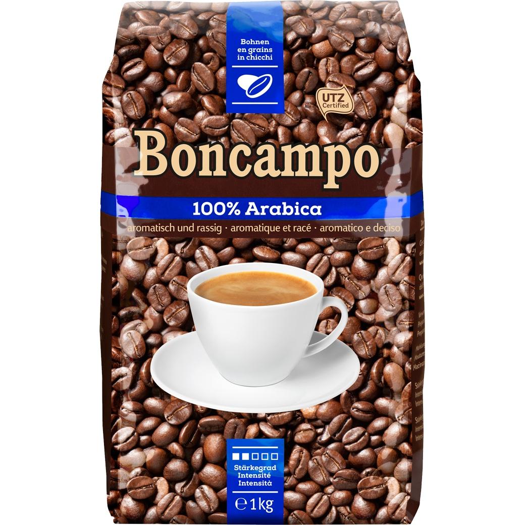 Kaffee Boncampo 100% Arabica Bohnen - 1kg