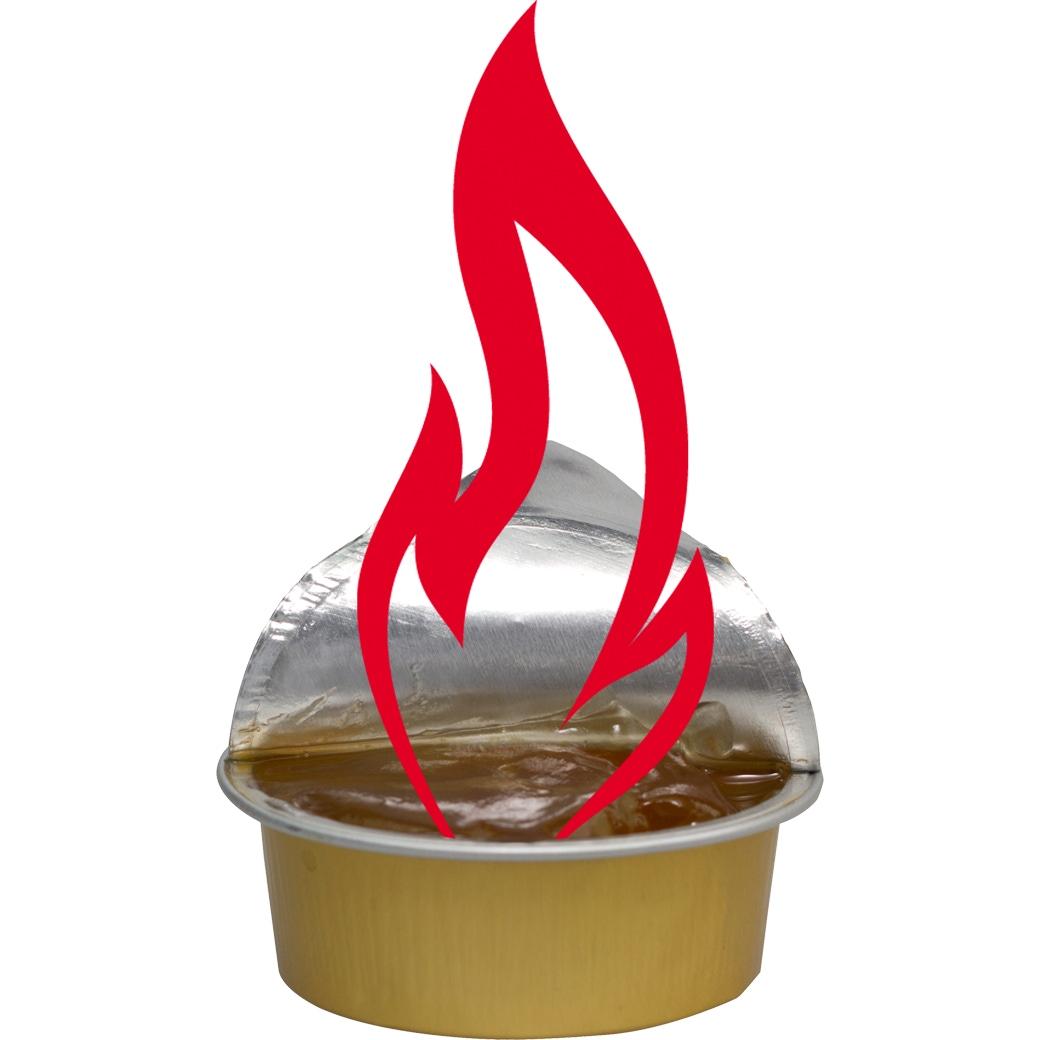 Sicherheits-Brennpaste 4x25 g