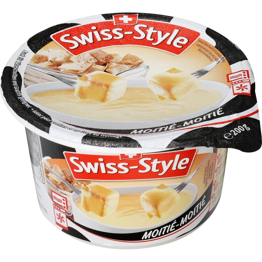 Fondue Swiss Style 'Moitié-Moitié' Mini