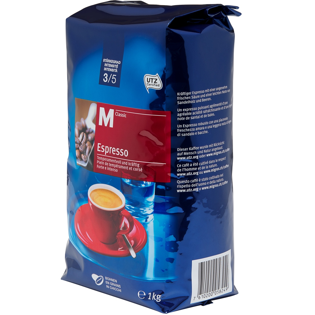 Kaffee Espresso 'M-Classic Bohnen'