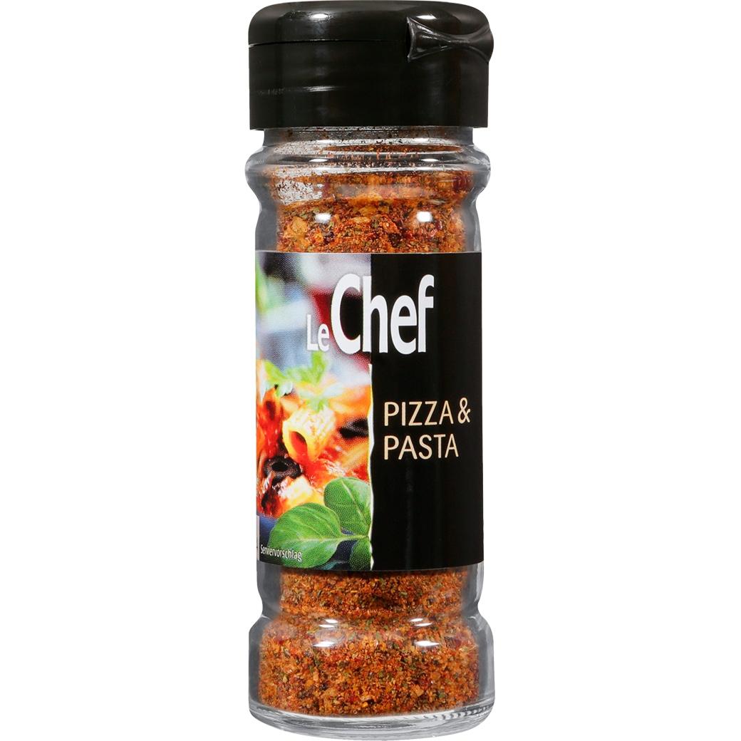 LeChef Gewürzstreuer Pizza Pasta Mix - 56g