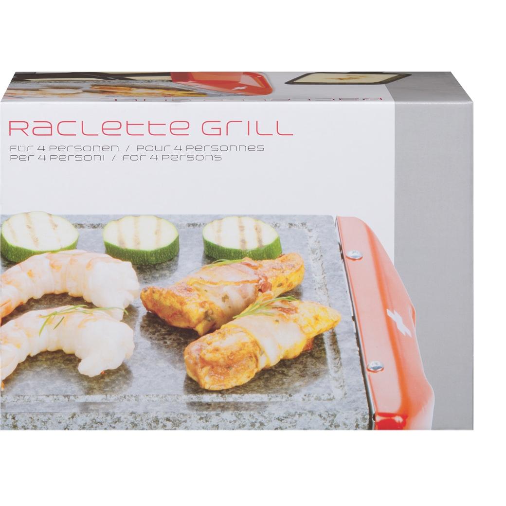 Raclette-Gerät mit Grillstein 'CH-Kreuz'