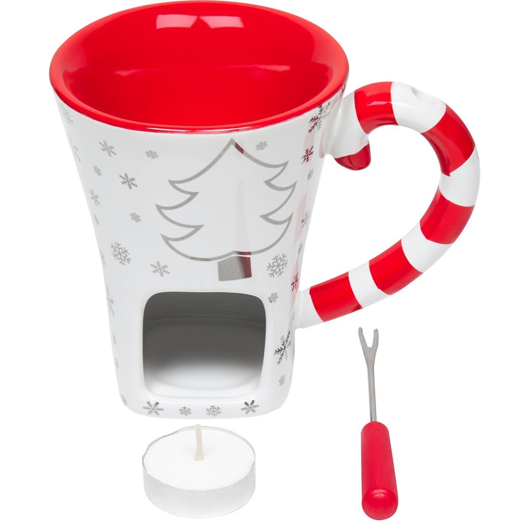 Schokoladenfondue-Set 'Christmas'