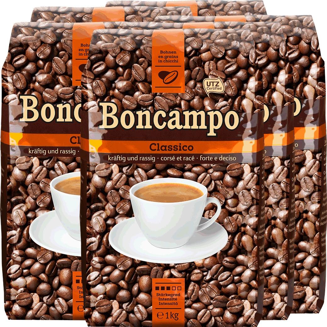 Kaffee Boncampo Bohnen 8x1kg