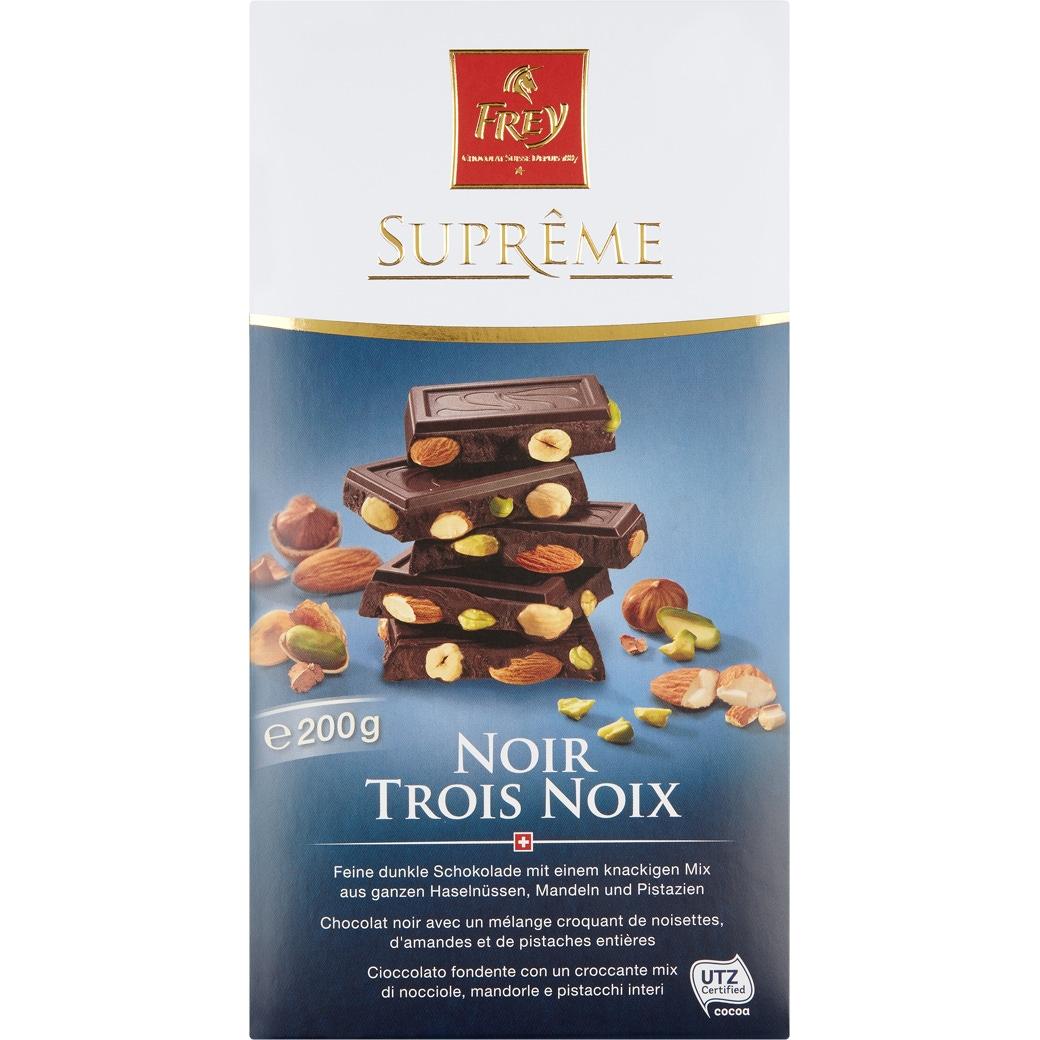 Suprême Noir Trois Noix - 200g