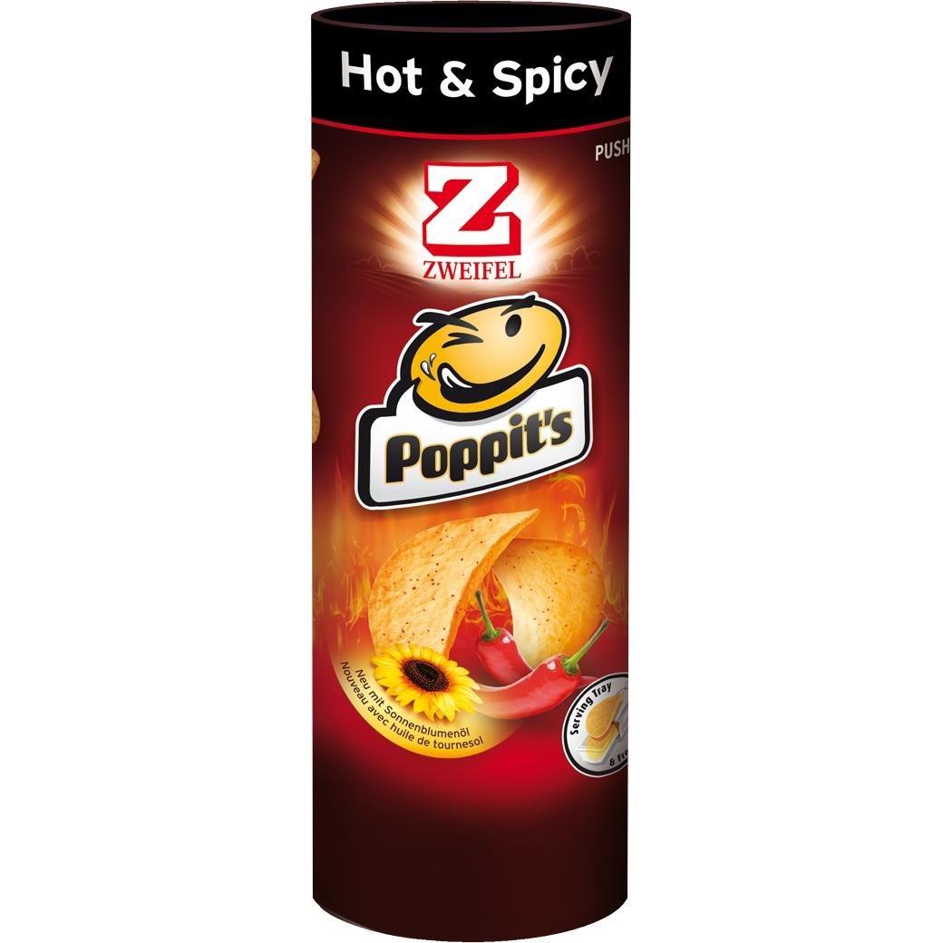 Poppit's Hot & Spicy - 100g