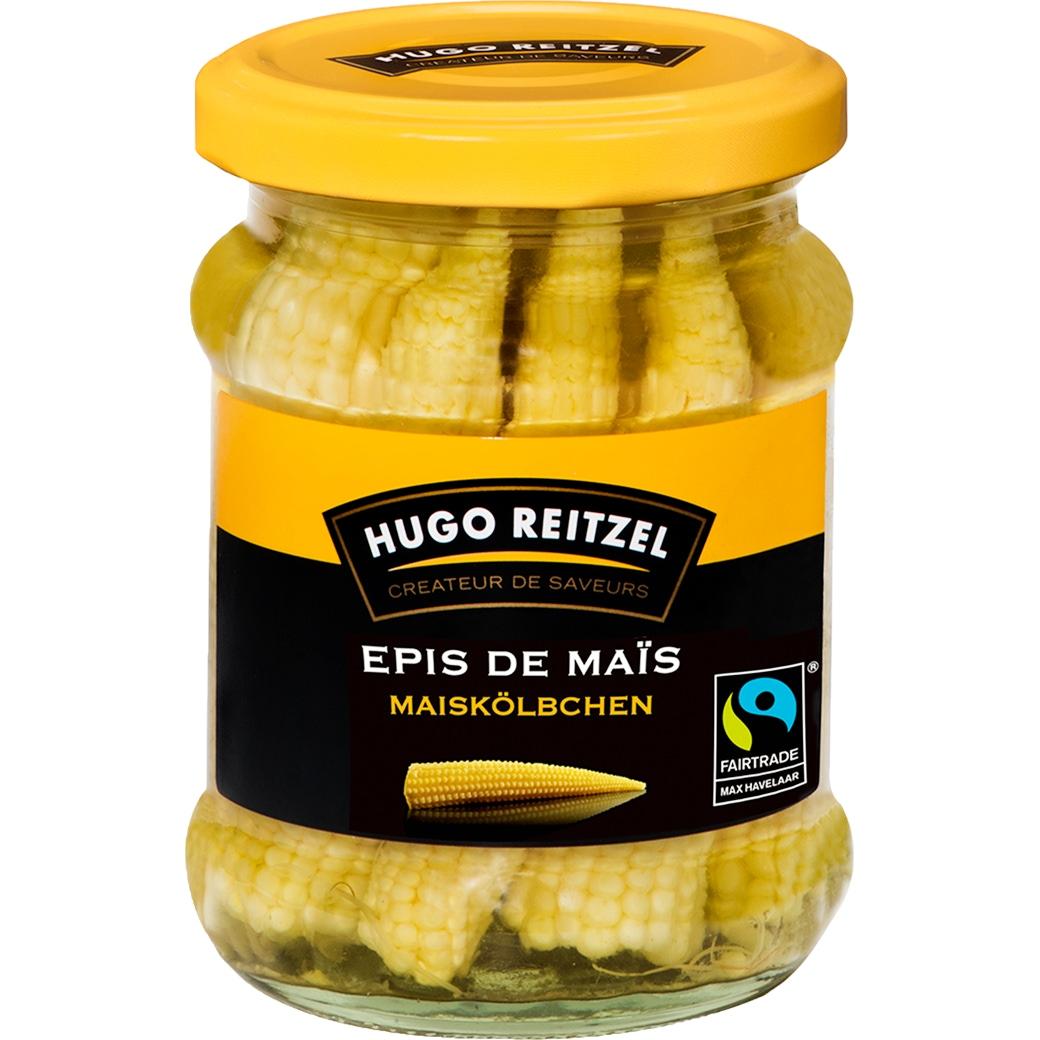 HUGO Reitzel Maiskölbchen in Essig - 215g