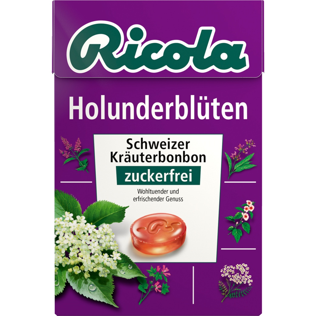 Ricola Holunderblüten ohne Zucker