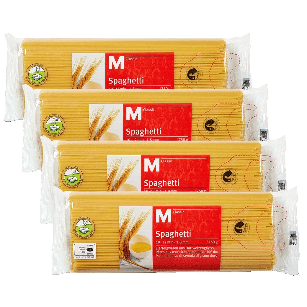 Spaghetti M-Classic 1.8mm 4x750g