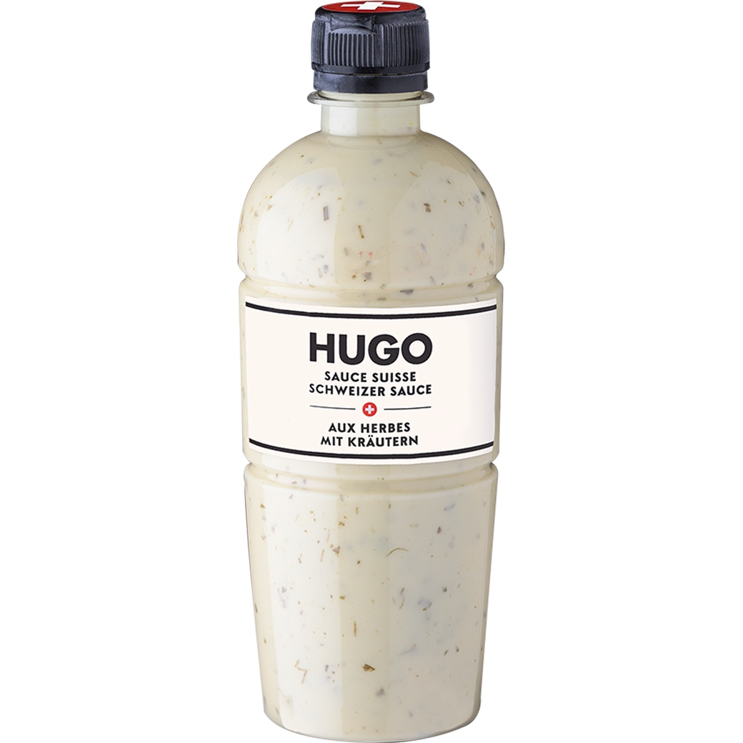 HUGO Schweizer Salatsauce mit Kräutern - 450g