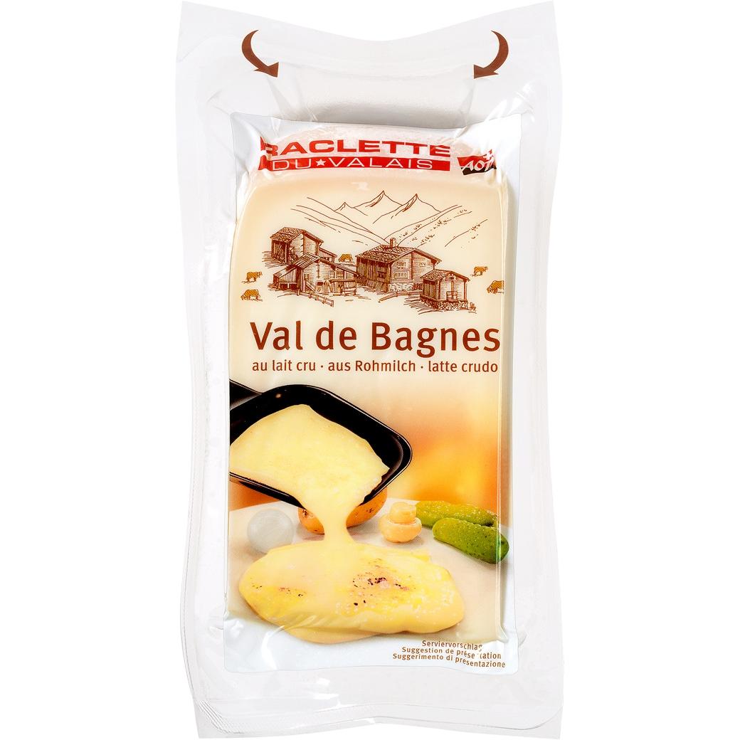 AOP Raclette «Valais Bagnes» Bloc - 500g