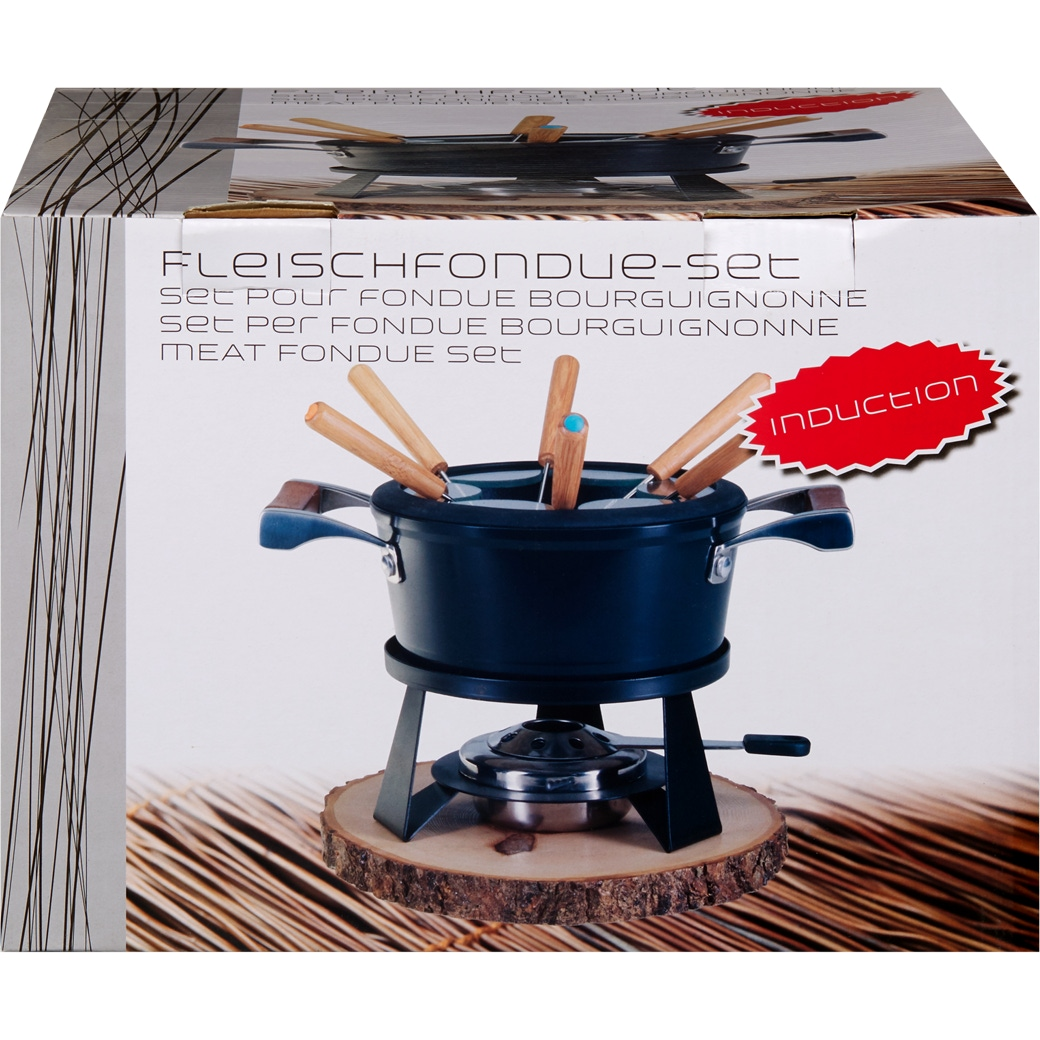 Fleischfondue-Set «Antik» - 9-teilig