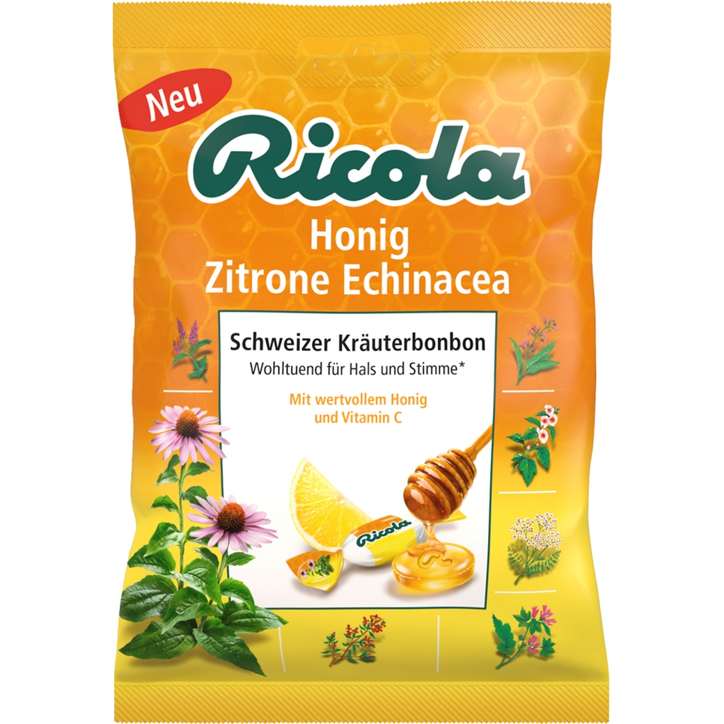 Ricola Honig Zitrone Echinacea