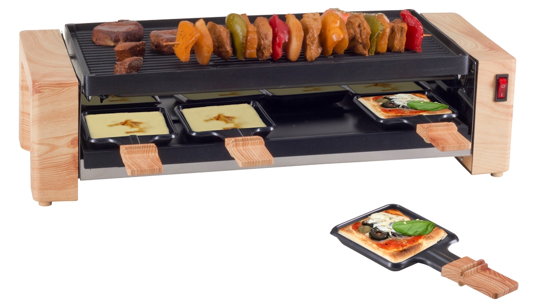 Raclette-Gerät «Wood-Grill and Pizza»