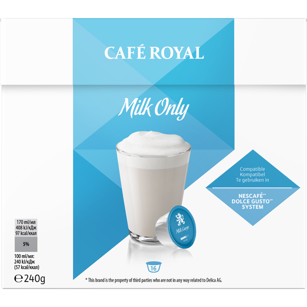 Café Royal Milk Only Modulino 16 Kapseln