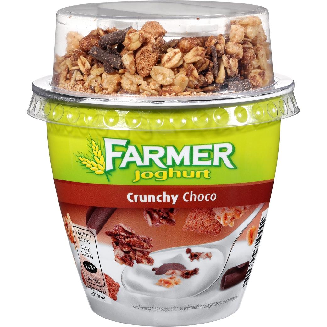 Farmer Joghurt Crunchy Choco - 225g