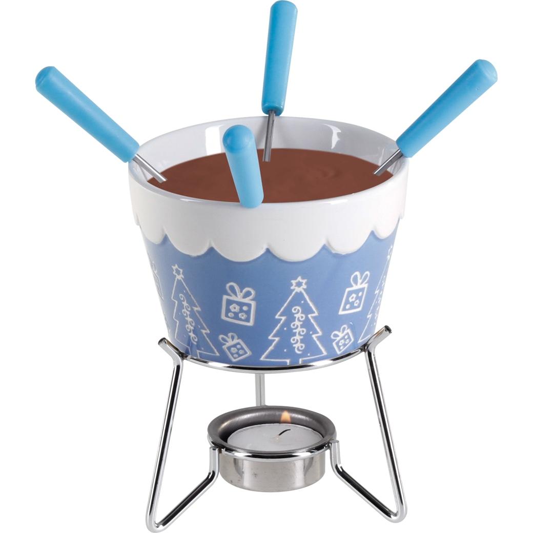 Schokoladenfondue-Set für 4