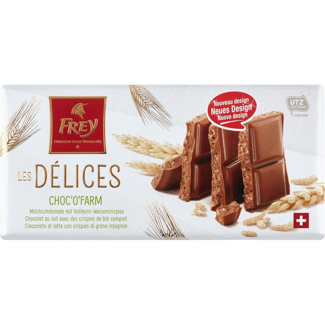 Les Delices «Choc'O'Farm» - 100g