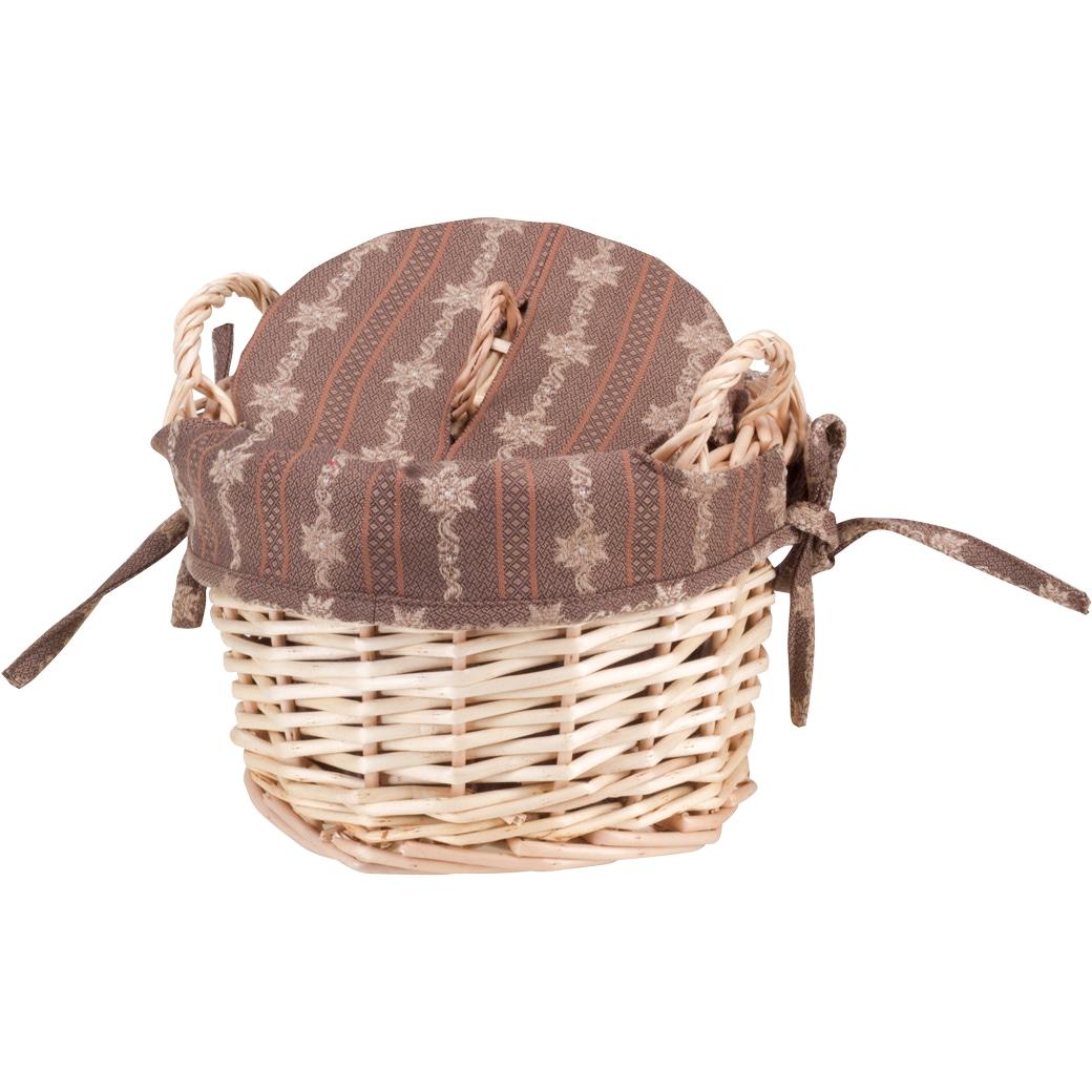 Kartoffelkorb «Sennenlook» Braun