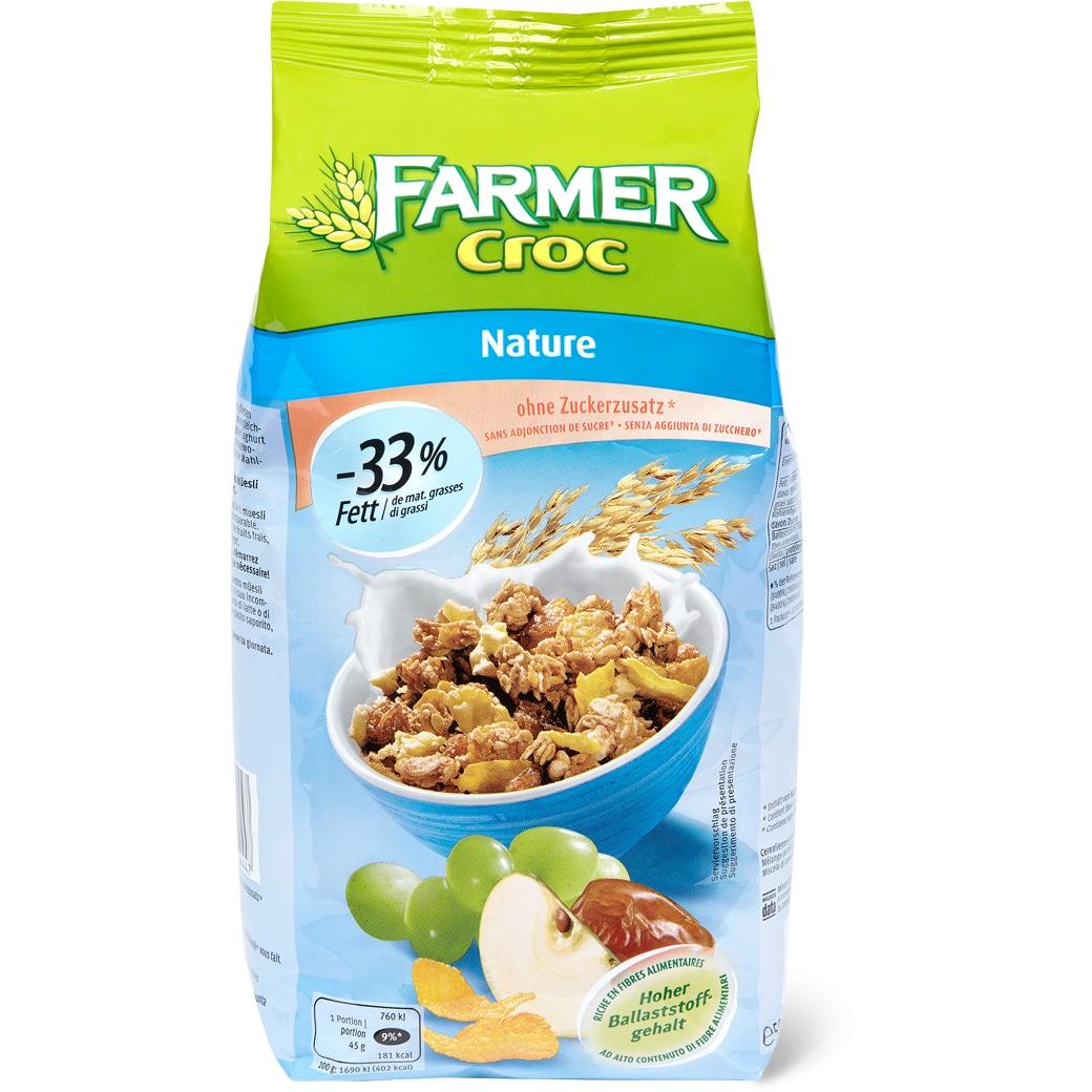 Farmer Croc Knusper Müesli ohne Zuckerzusatz - 500g