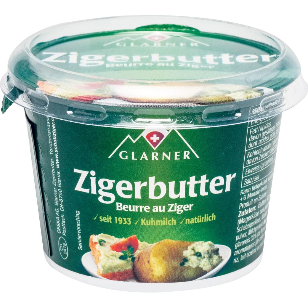 Glarner Zigerbutter - 80g