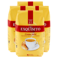Kaffee Exquisito Bohnen - 4x1kg