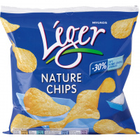Léger Chips Nature - 75g
