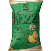 Zweifel KEZZ Extra Crunchy Chips Cheese & Onion - 110g