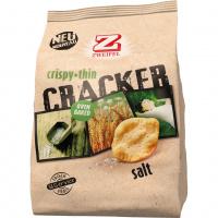 Zweifel Cracker Crispy + Thin Salt OFF - 95g