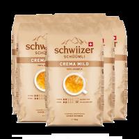 «Schwiizer Schüümli» Mild Bohnen - 8x1kg