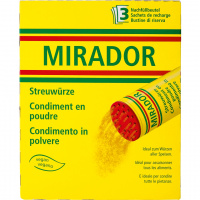 Mirador Streuwürze (Nachfüllbeutel à 90g) - 270g
