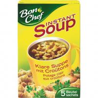 Bon Chef Instant Klare Suppe mit Croûtons - 55g