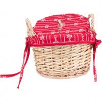 Kartoffelkorb «Sennenlook» Rot